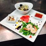 Seafood Sampler Appetizer